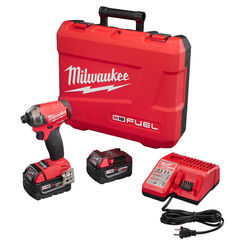 Click here to see Milwaukee 2760-22 Milwaukee 2760-22 M18 Fuel Surge 1/4-inch Hex Hydraulic Driver Kit
