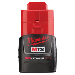 Click here to see Milwaukee 48-11-2430 Milwaukee 48-11-2430 M12 REDLITHIUM 3.0 Compact Battery