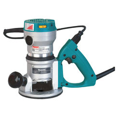 Click here to see Makita RD1101 Makita RD1101 2-1/4 HP* D-Handle Router
