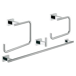 Click here to see Grohe 40778001 Grohe 40778001 Essentials Master Bathroom Accessory Kit, Starlight Chrome
