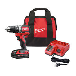 Click here to see Milwaukee  Milwaukee 2701-21P M18 Compact Brushless Dril Driver with Starter Kit