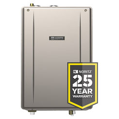 Click here to see Noritz EZ98-DV-NG Noritz EZ98-DV-NG Natural Gas Tankless Water Heater 180K BTU - Direct Vent