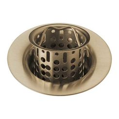 Click here to see Brizo 69051-GL Brizo 69051-GL Flange And Basket Strainer, Luxe Gold