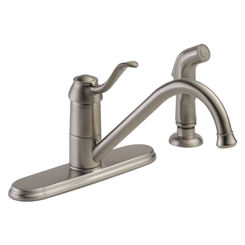 Click here to see Peerless P188700LF-SS-W PEERLESS P188700LF-SS-W CHOICE ONE HANDLE KITCHEN FAUCET STAINLESS