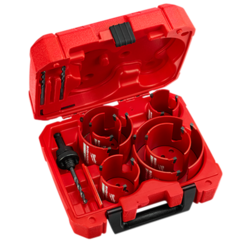 Click here to see Milwaukee 49-56-9290 Milwaukee 49-56-9290 10 PC Big Hawg Hole Saw Kit