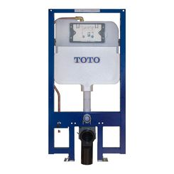Click here to see Toto WT172M Toto WT172M Duofit In-Wall Tank System - Dual Flush, Copper Supply