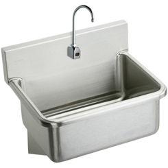 Click here to see Elkay EWS3120SBTMC Elkay EWS3120SBTMC  Surgeon's Sink and Sensor Faucet
