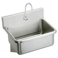 Click here to see Elkay EWS2520SACC Elkay EWS2520SACC Rectangular Surgeon Scrub Sink with Sensor Faucet Package