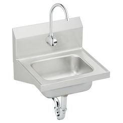 Click here to see Elkay CHS1716SACTMC Elkay CHS1716SACTMC Single Bowl Handwash Sink Kit