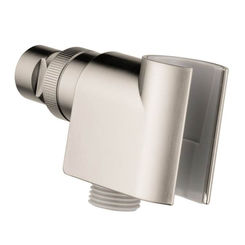Click here to see Hansgrohe 04580820 Hansgrohe 04580820 Shower Arm Mount for Handshower, Brushed Nickel