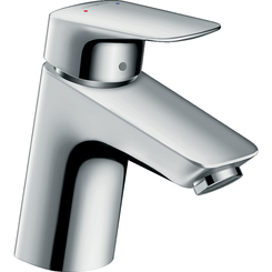 Click here to see Hansgrohe 71070001 Hansgrohe 71070001 Logis Single-Hole Faucet 70 with Pop-Up Drain, Chrome
