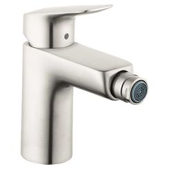 Click here to see Hansgrohe 71200821 Hansgrohe 71200821 Logis Single-Hole Bidet Faucet, Brushed Nickel