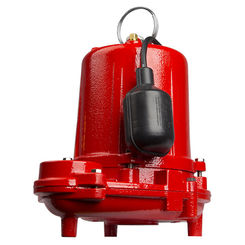 Click here to see Red Lion 620040 Red Lion 620040 RL31EA 1/3 HP Heavy-Duty Cast Iron Sewage Pump