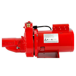 Click here to see Red Lion 602137 Red Lion 602137 RJC-75-PREM 3/4 HP Premium Cast Iron Convertible Jet Pump