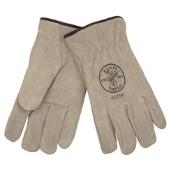 Click here to see Klein 40015 KLEIN 40015 SUEDE COWHIDE DRIVERS GLOVES LINED, XL