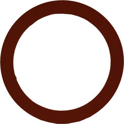 Click here to see Pacific Coast Bolt  1/8 x 8 inch Red Rubber Gasket Ring