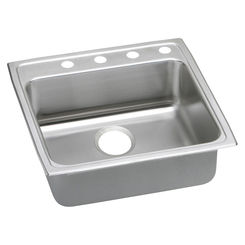 Click here to see Elkay LRADQ2222650 Elkay LRADQ2222650 22 x 22 Inch Gourmet Sink with Quick-Clip