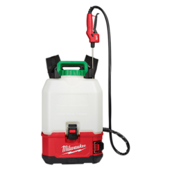 Click here to see Milwaukee 2820-21PS Milwaukee 2820-21PS M18 SWITCH TANK 4 Gallon Backpack Sprayer Kit
