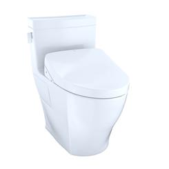 Click here to see Toto MW6243056CEFGA#01 TOTOWASHLET+ Legato One-Piece Elongated 1.28GPF Toilet with Auto Flush S550e Bidet Seat, Cotton White - MW6243056CEFGA#01