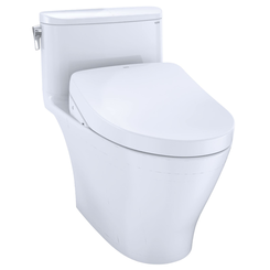 Click here to see Toto MW6423056CUFGA#01 TOTO WASHLET+ Nexus 1G One-Piece Elongated 1.0 GPF Toilet with Auto Flush S550e Contemporary Bidet Seat, Cotton White - MW6423056CUFGA#01