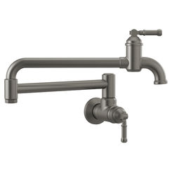 Click here to see Delta 1190LFL-KS-DST Delta 1190LFL-KS-DST Broderick Wall Mount Pot Filler, Back Stainless