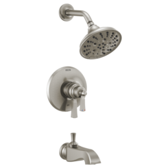 Click here to see Delta T17456-SS Delta T17456-SS Dorval Monitor 17 Tub/Shower Trim, Brilliance Stainless