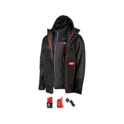 Click here to see Milwaukee 255B-21S Milwaukee 255B-21S M12 Heated Axis Layering System Kit, Small - Gridiron