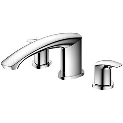 Click here to see Toto TBG09201U#CP TOTO GM Two-Handle Deck-Mount Roman Tub Filler Trim, Polished Chrome - TBG09201U#CP