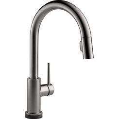 Click here to see Delta 9159TV-KS-DST Delta 9159TV-KS-DST Trinsic One-Handle Pulldown Kitchen Faucet, Black Stainless
