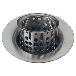 Click here to see Delta 72011-SS Brizo 72011-SS Stainless Steel Bar/Prep Sink Flange And Strainer