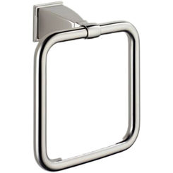 Click here to see Brizo 69846-BN Brizo 69846-BN Vesi Brushed Nickel Towel Ring