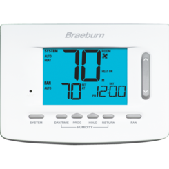 Click here to see Braeburn 5025 BRAEBURN 5025 UNIVERSAL 7 DAY, 5-2 DAY OR,NON-PROGRAMMABLE 2H / 1C HUMIDITY