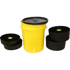 Click here to see Versapak 502 5 Gal Pail with 2 Reg & 2- 1/2