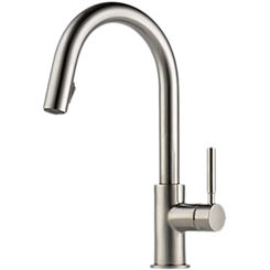 Click here to see Brizo 63020LF-SS Brizo 63020LF-SS Solna Stainless Steel Pulldown Kitchen Faucet