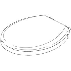 Click here to see Delta RP76685 Delta RP76685 Round Front With Soft Close Toilet Seat