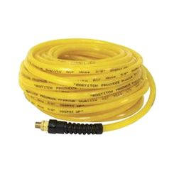 Click here to see Bostitch PRO-14100 Prohoze PRO-14100 Premium Air Hose, 1/4 in x 100 ft, MNPT, 200 psi, Polyurethane