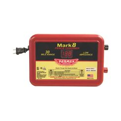 Click here to see Parker McCrory MARK 8/7 Parmak Mark 8/7 Low Impedance AC Powered Electric Fence Charger, 110 - 120 VAC Input