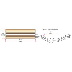 Click here to see HBX 029-0022 HBX 029-0022 Brass Universal Sensor