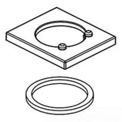 Click here to see Delta RP63347 DELTA RP63347 PART DELTA VERO: FLANGE & GASKET CHROME