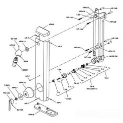 Click here to see Symmons HPN-9 Symmons HPN-9 Showerhead Bracket