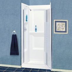 Click here to see Mustee 736WHT Mustee 736WHT White Durawall Shower Wall