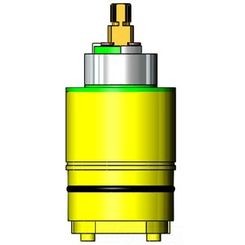 Click here to see T&S Brass 017441-45 T&S BRASS 017441-45 CERAMIC CARTRIDGE FOR PRESSURE BALANCE VALVE, B-3204