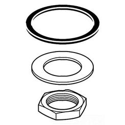 Click here to see Delta RP52660 Delta RP52660 Delta Spout Gasket Assembly (Chrome)