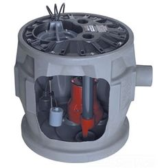 Click here to see Liberty P382XLE102 Liberty P382XLE102 Pre-Assembled Simplex Sewage System, 1HP, 208-230V, 1 Phase