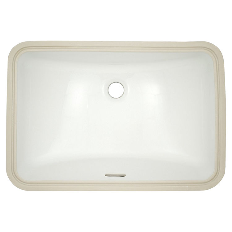 Toto LT542G#01 Toto LT542G Cotton White Undercounter Lavatory with SanaGloss ADA