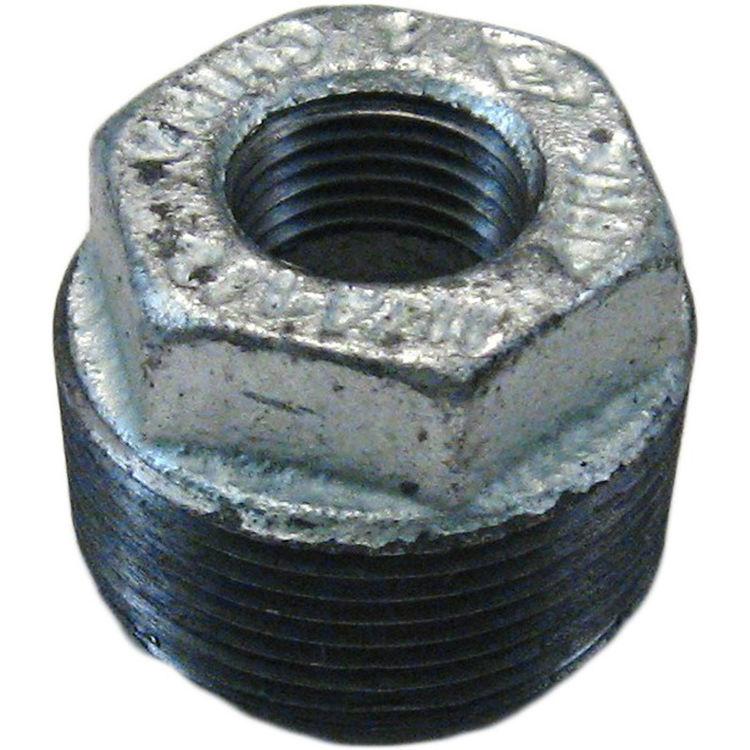 """Commodity  GALB11412 Galvanized Bushing, 1-1/4"""" x 1/2"""""""