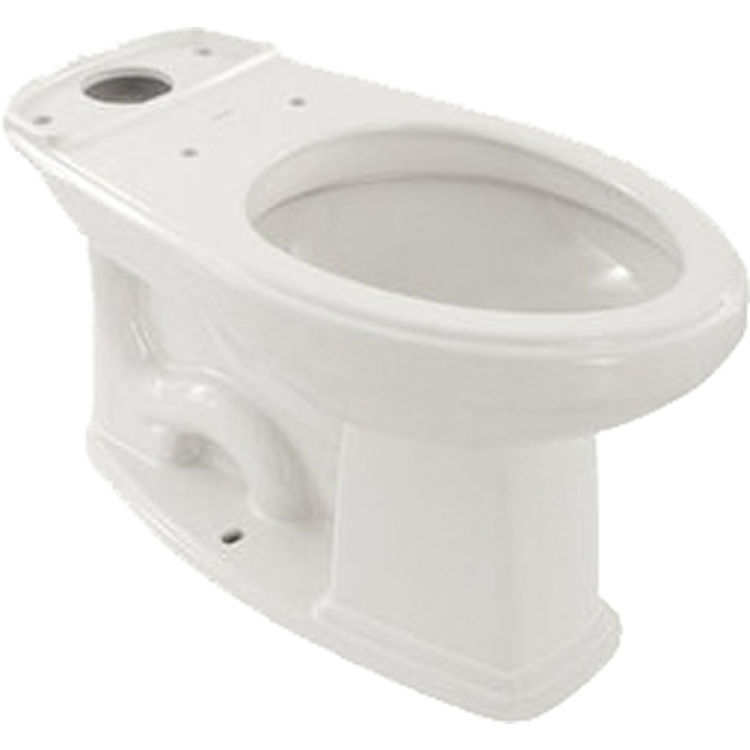 Toto C424EF#01 Toto C424EF#01 Eco Promenade Elongated Toilet Bowl, Cotton