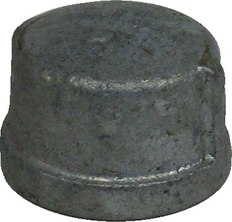 Commodity  GALCAP1 Galvanized Cap, 1 Inch