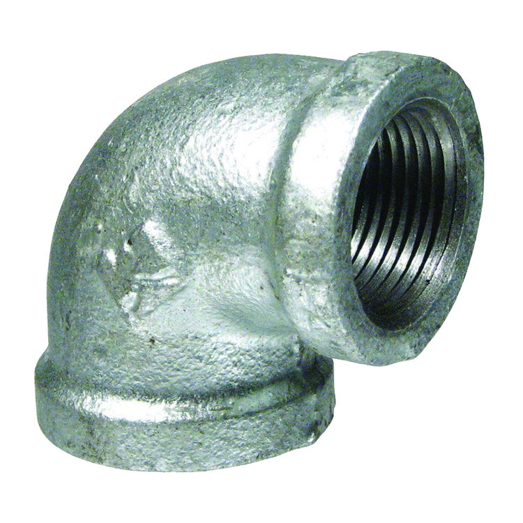 Commodity  GALL112 Galvanized 90 Degree Elbow, 1-1/2 Inch