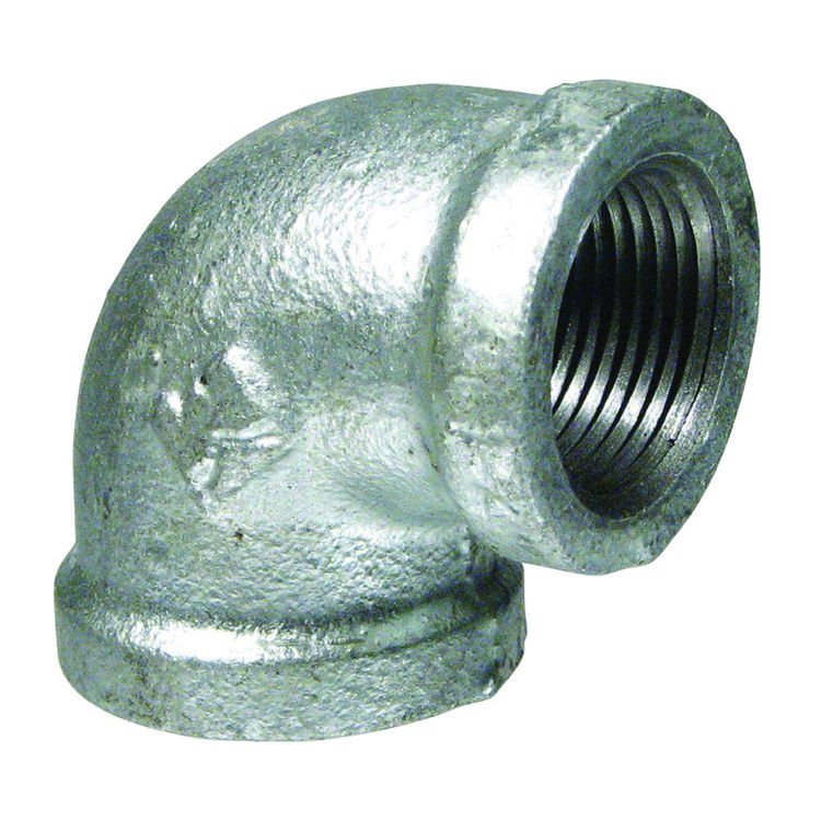 Commodity  GALL34 Galvanized 90 Degree Elbow, 3/4 Inch